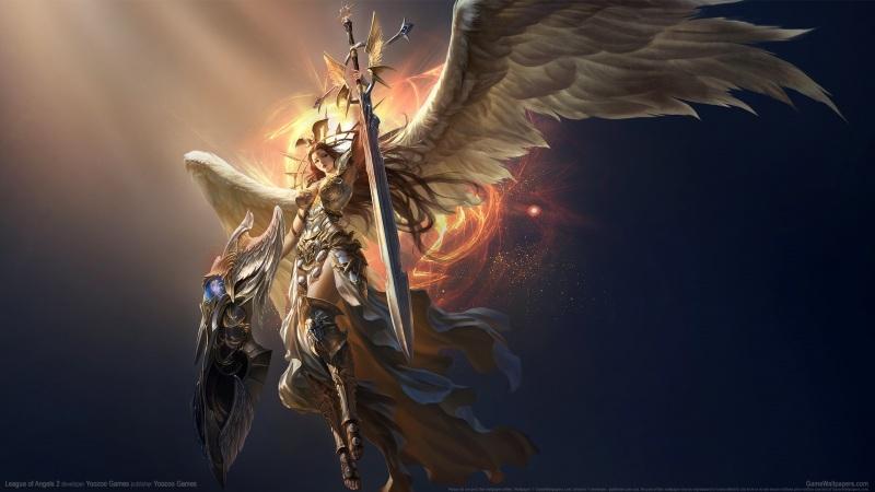 女神联盟2美女天使壁纸