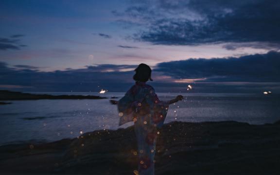 <孤独的夜晚,高清壁纸,图片,时光记忆