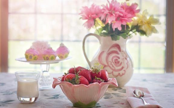 <幸福就是早安后的早餐,高清壁纸,摄影图片,静物写真