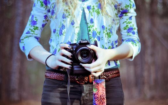 <佳能单反相机,高清壁纸,图片,时光记忆