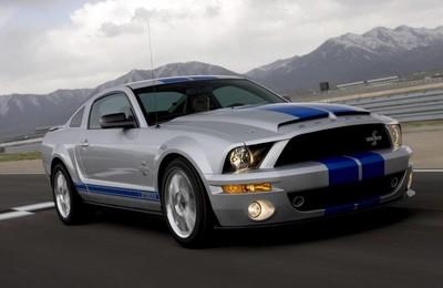 汽車超跑福特野馬眼鏡蛇謝爾比shelbyGT500高清壁紙
