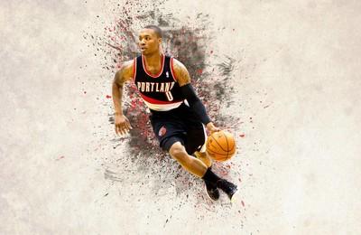 體育NBA波特蘭開拓者利拉德高清壁紙
