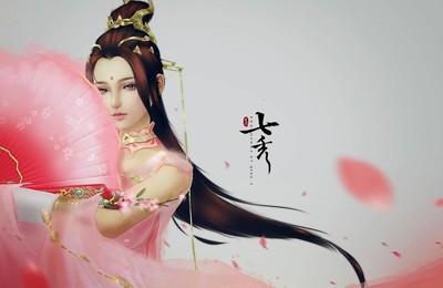 <熱門網游劍網三七秀可愛唯美高清壁紙