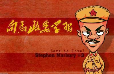 <體育NBA馬布里北京隊手繪高清壁紙