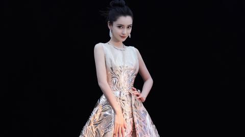 <angelababy优雅长裙壁纸