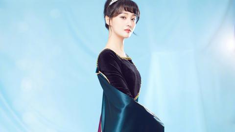 <郑爽cos安娜公主壁纸