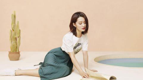 李沁清新少女风壁纸